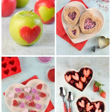 4 Cute & Easy Valentine's Food Ideas for Kids