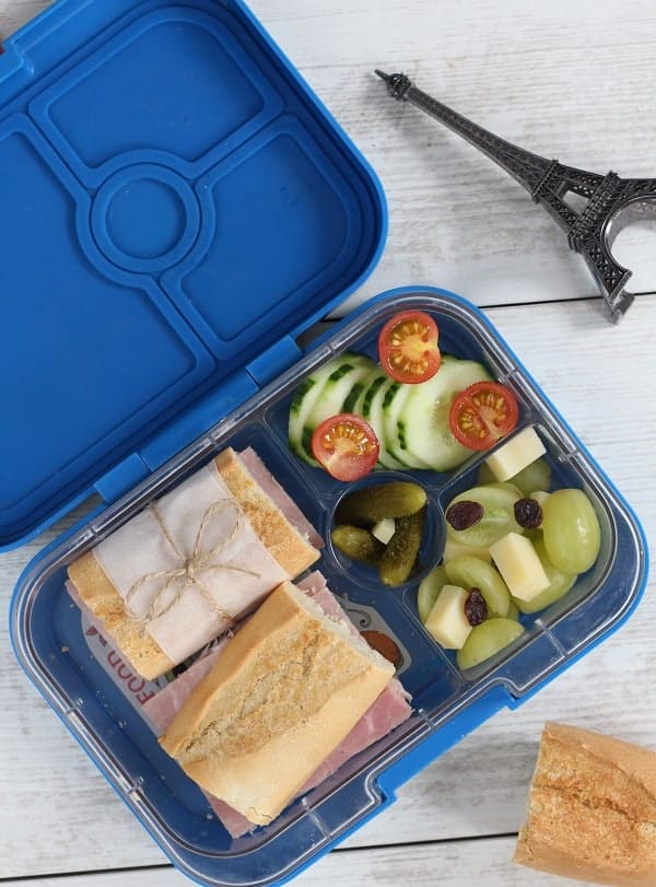 French children lunchbox - Croque-Maman - Main