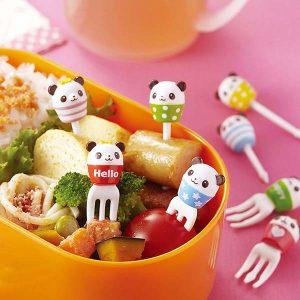 Panda Cup Bento Food Picks and Forks - Set of 8 - Eats Amazing Shop