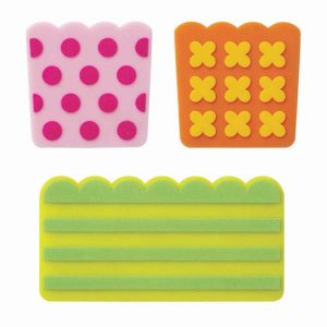 Patterned Silicone Dividers - Set of 3 - Eats Amazing Bento Shop