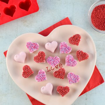 Frozen Yogurt Hearts – Fun Valentine's Food