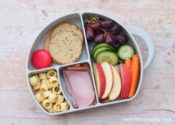 Simple packed lunch idea for Sugar Free February - Eats Amazing UK