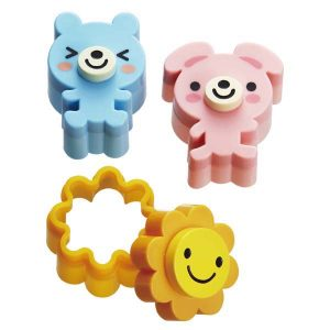Sunshine Animals Stamped Sandwich Cutters - Set of 3 from the Eats Amazing Bento UK Shop