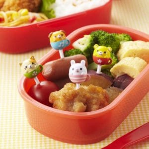 Teacup Animal Food Picks - Set of 8 from the Eats Amazing UK Shop