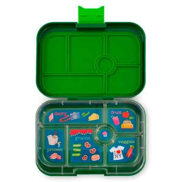 yumbox classic brooklyn green eats amazing. Black Bedroom Furniture Sets. Home Design Ideas