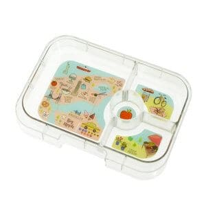 Yumbox Panino 4 Compartment Tray - NYC Theme