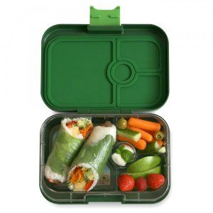 Yumbox Panino Bento Box for Kids UK - Brooklyn Green - example lunch 2