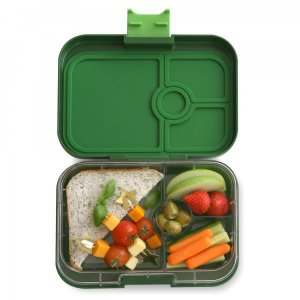 Yumbox Panino Bento Box for Kids UK - Brooklyn Green - example lunch 3