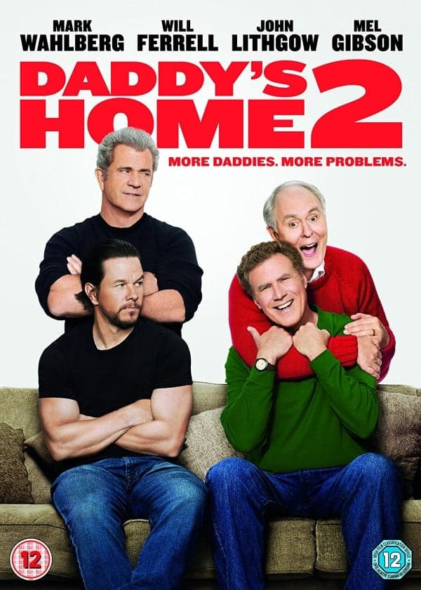 Daddys Home 2 DVD Cover