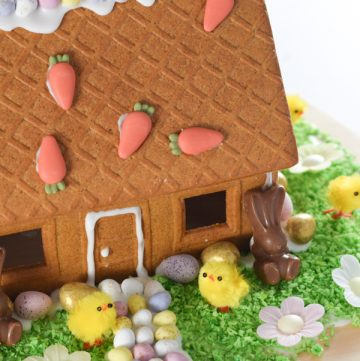Fun Food Tutorial: Easter Gingerbread House