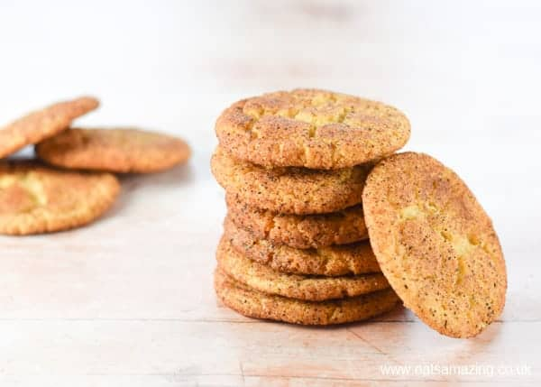 How to make homemade snickerdoodles - easy cookie recipe from Eats Amazing UK