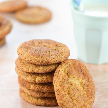 How to make snickerdoodle cookies - easy recipe from Eats Amazing UK