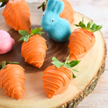 Fun Easter Food: Strawberry Carrots Recipe
