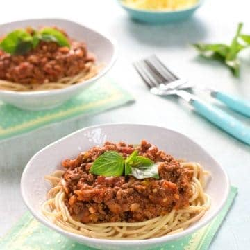 Easy Slow Cooker Spaghetti Bolognese with Hidden Vegetables Recipe