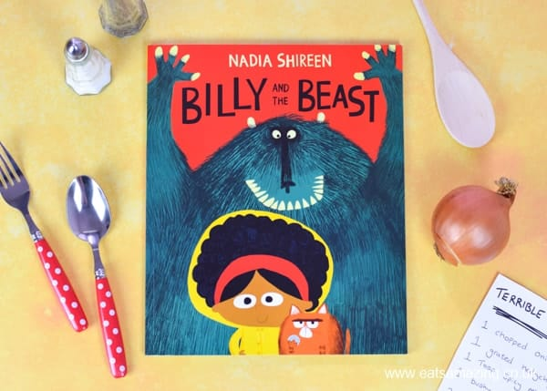 Billy and the Beast book review and fun book themed food for kids from Eats Amazing UK