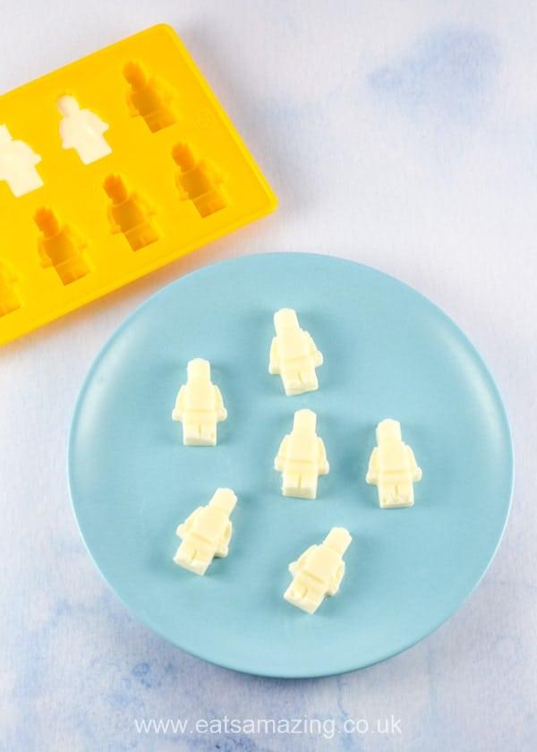 Frozen yogurt LEGO minifigures tutorial - kids will love this fun healthy snack idea