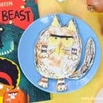 Fun Fatcat pizza quesadilla recipe for kids - inspired by the new book Billy and the Beast