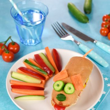 Fun Meal for Kids: Doggy Hot Dog