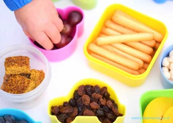 Healthy snacking for toddlers with Organix