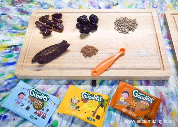 New fruit and seed bites from Organix - tasty snacks with real organic ingredients