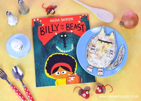 Our review of new book Billy and the Beast plus fun food ideas for kids themed around the book