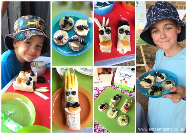 Fun food workshop for kids on an oranic farm with Honest Kids