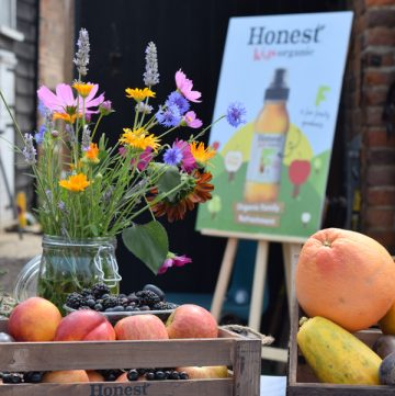Our Visit to an Organic Farm with Honest® Kids