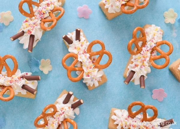 How to make cute butterfly biscuits - quick and easy party treat idea that kids will love