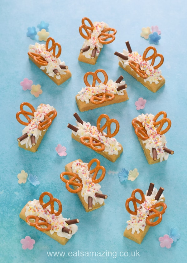 How to make cute butterfly biscuits - quick easy and fun party dessert idea that kids will love