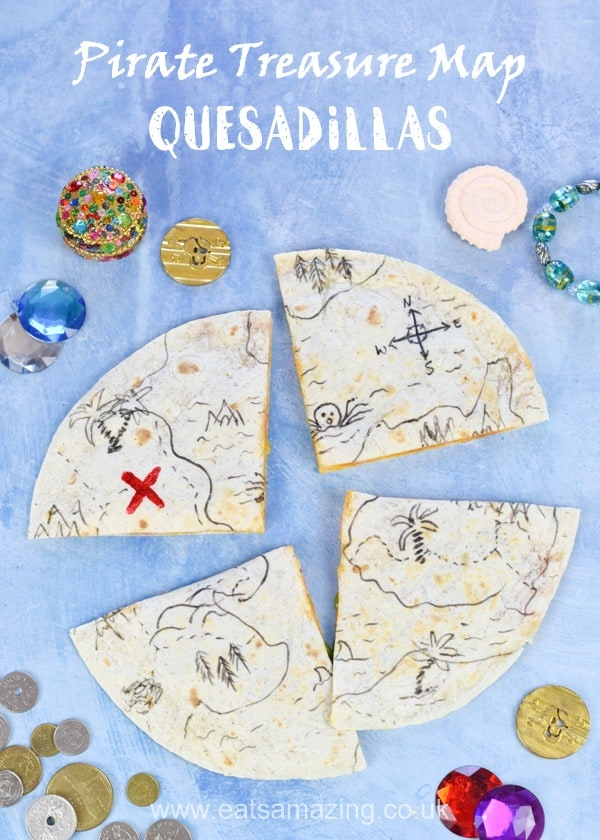How to make edible treasure maps for fun pirate party food kids will love - with full printable recipe and video tutorial