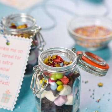Fun Birthday Breakfast Sprinkle Mix Recipe