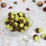 Cute and easy Grape Acorns - fun food for kids from Eats Amazing UK