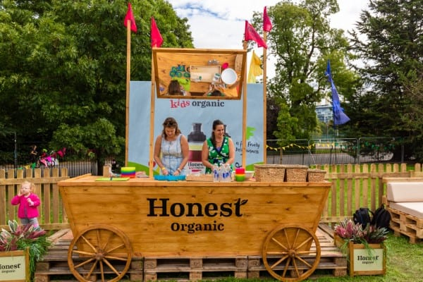 Eats Amazing Fun Food Workshop with Honest Kids at the Go Organic Festival