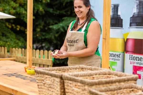 Grace Hall Eats Amazing Fun Food Workshop with Honest Organic Drinks