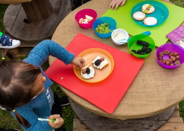 Honest Kids Fun Food Workshop at the Go Organic Festival
