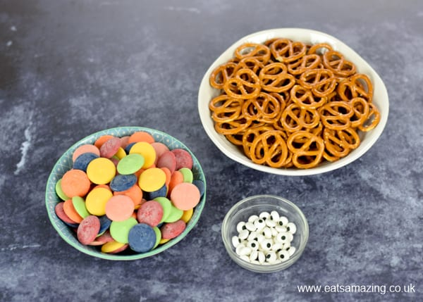 Easy Monster Pretzels recipe - ingredients needed