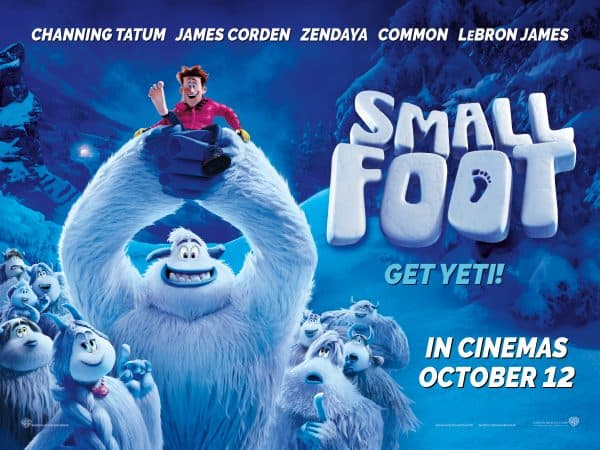 Smallfoot Movie Poster - edible Yeti coconut bites recipe
