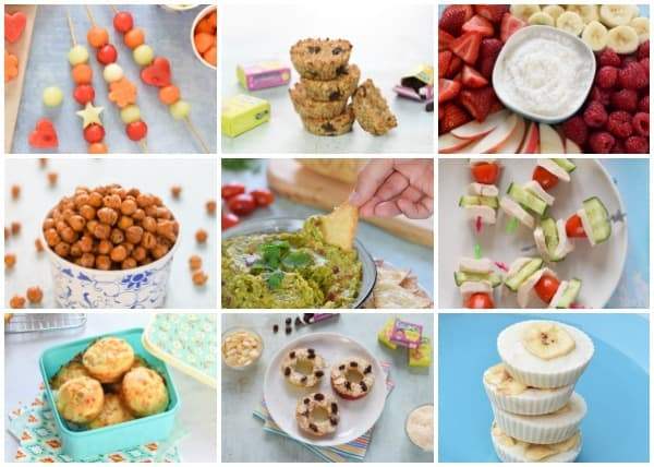 Easy and healthy snack ideas for kids - yummy snack recipes and ideas the whole family will love