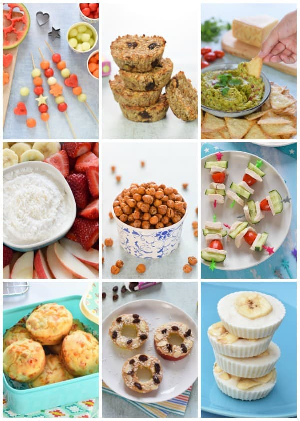 Healthy snacks for kids and adults too - yummy snack recipes and ideas the whole family will love