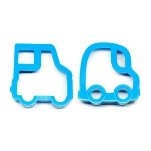 Lunch Punch Drive Sandwich Cutters Set of 2 - Eats Amazing UK Bento Shop - cute healthy food for kids - fun lunch box and party food ideas