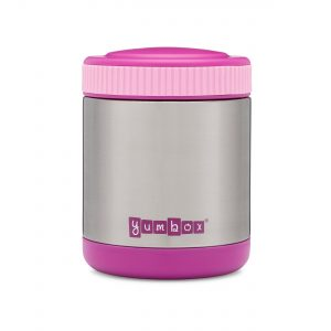 Pack hot and cold foods in the Yumbox Zuppa Thermos Food Flask from the Eats Amazing UK Shop - Bijoux Purple