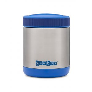 Pack hot and cold foods in the Yumbox Zuppa Thermos Food Flask from the Eats Amazing UK Shop - Neptune Blue