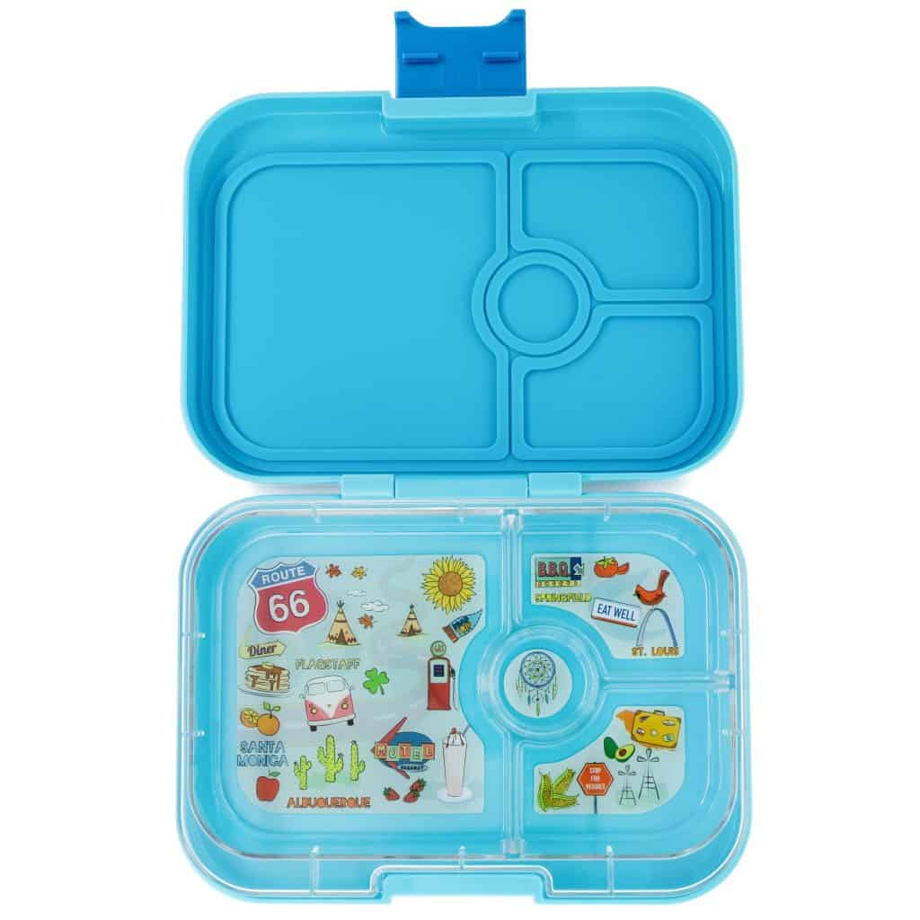 yumbox panino blue fish eats amazing. Black Bedroom Furniture Sets. Home Design Ideas