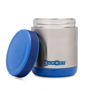 Yumbox Zuppa Thermos Flask for hot or cold foods from the Eats Amazing UK Shop - Neptune Blue