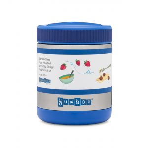 Yumbox Zuppa Thermos Food Flask from the Eats Amazing UK Bento Shop - Blue