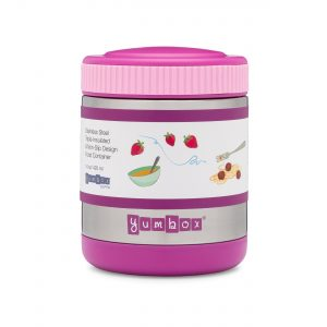 Yumbox Zuppa Thermos Food Flask from the Eats Amazing UK Bento Shop - Purple