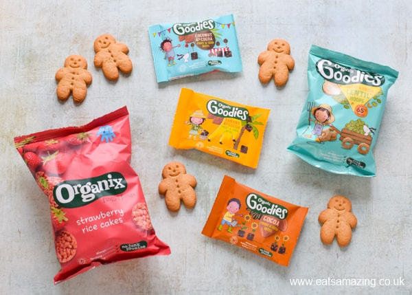 Yummy organic kids snacks from Organix Foods
