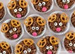 How to make easy reindeer chocolate rice crispy cakes - fun Christmas food for kids