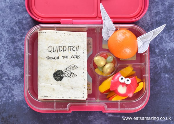 How to make a fun Harry Potter lunch for kids - perfect for World Book Day or a special birthday lunch