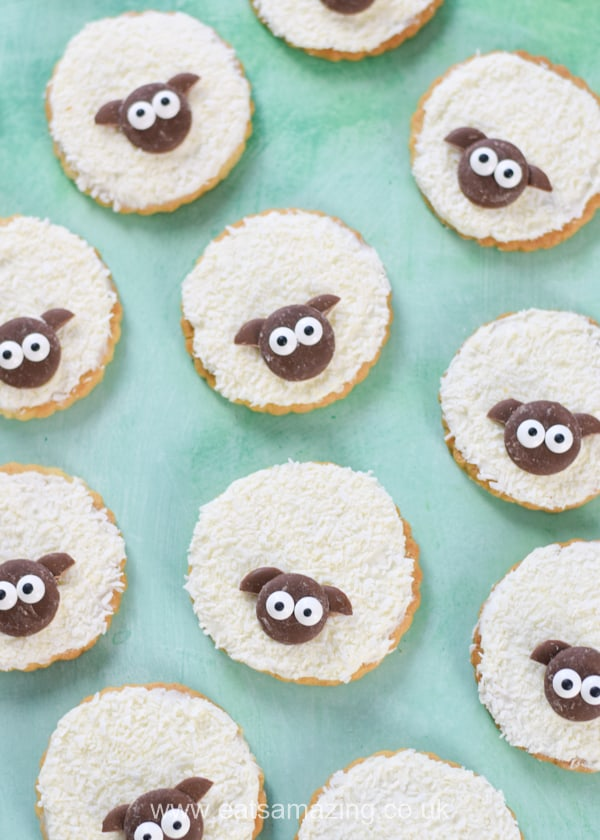 Easy Shortbread Sheep Cookies Recipe Eats Amazing